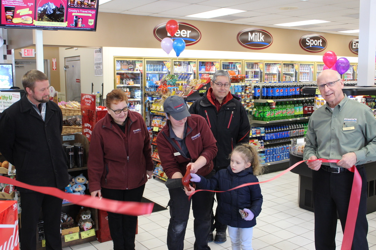 Grand Reopening of Crosby's in Barker