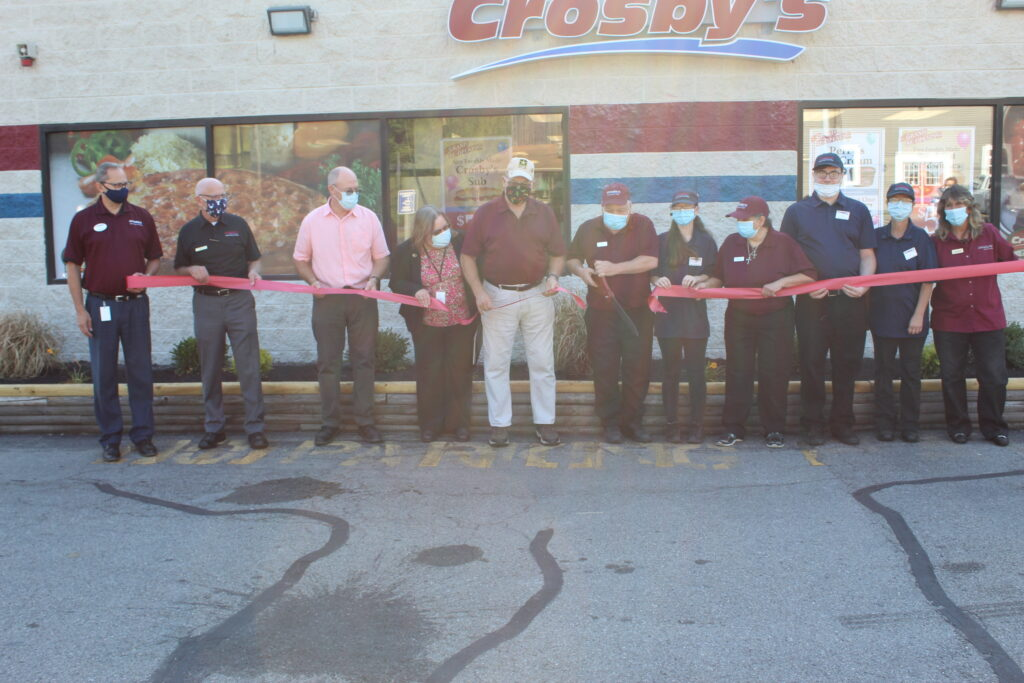 Parma Ribbon Cutting
