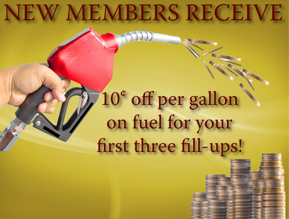 New Member Gas Discount